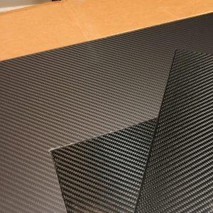 Solid Carbon Fibre Plates
