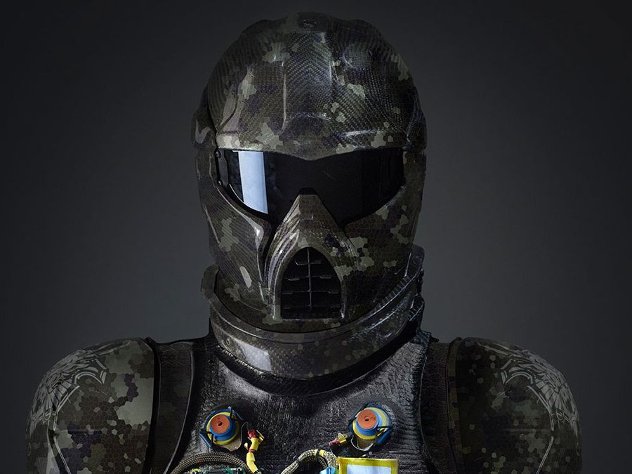 The Carbon Fibre Gladiator Suit