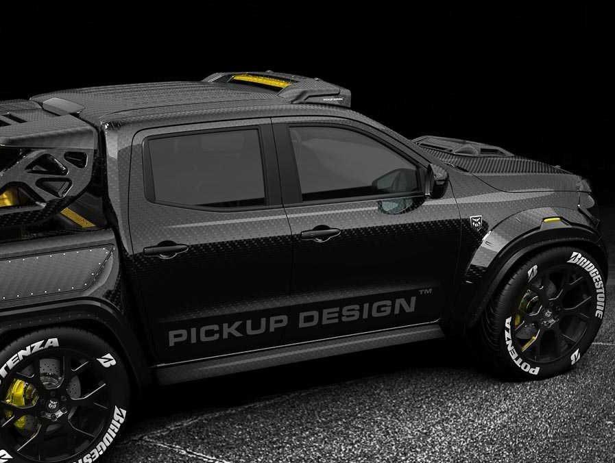 Carbon Fibre Monster X 6×6 Mercedes-Benz X-Class Monster X