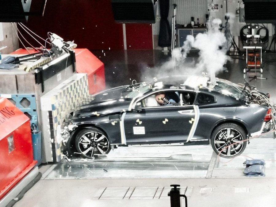 Carbon Fibre Crash Test